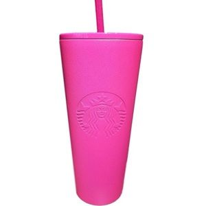 Starbucks Cold Cup Pink Stainless Steel Tumbler